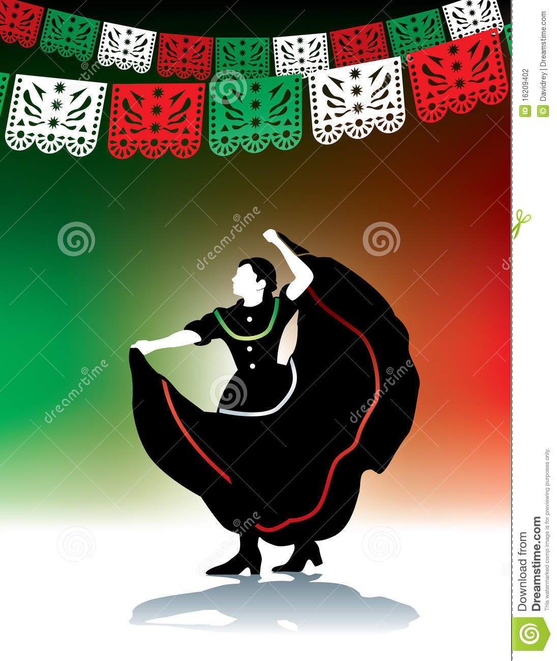 Mexican Folk Dancer Stock Photography   Image  16209402