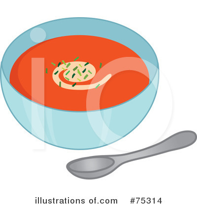 Soup Clipart  75314   Illustration By Rosie Piter