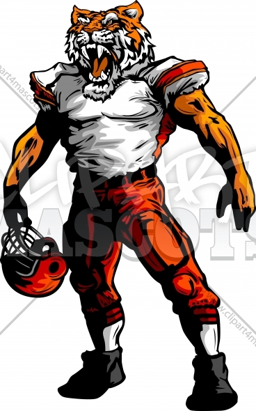 football mascot clipart free - photo #19