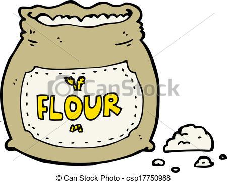 Clip Art Flour Clipart flour clipart kid vector cartoon bag of stock illustration royalty free