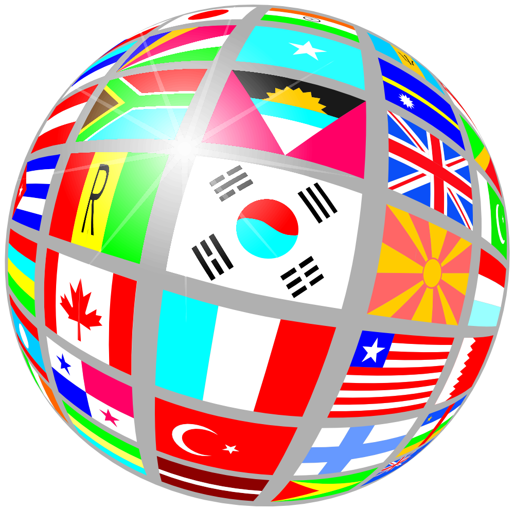 World Globe Map Clipart - Clipart Kid