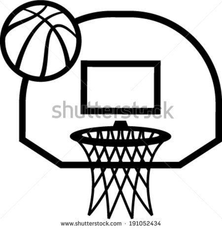 Basketball Net Vector Clipart Panda Free Clipart Images #wdOb4K ...