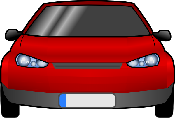 Car Front Clip Art At Clker Com   Vector Clip Art Online Royalty Free