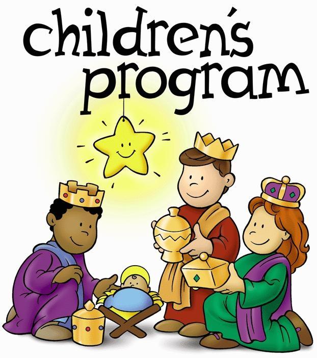 Church Christmas Program Clipart - Clipart Kid