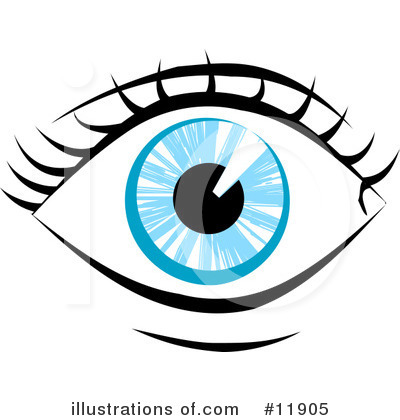 Royalty Free  Rf  Eye Clipart Illustration By Geo Images   Stock