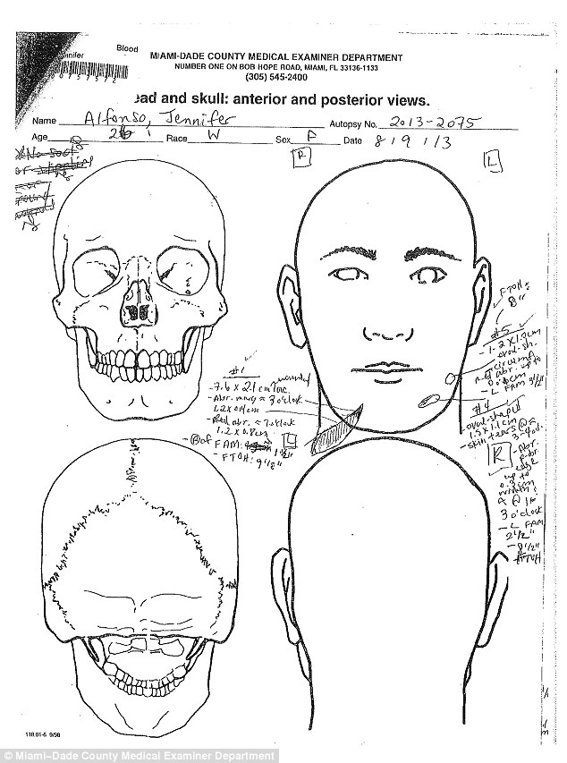Sarah Townsend Autopsy Page 2 Sarah Townsend Autopsy Page 3