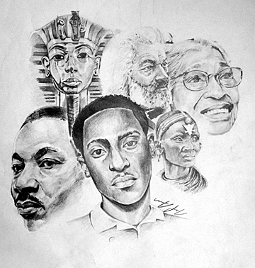The Artwork For The Black History Month Calendar Was Created By Nate