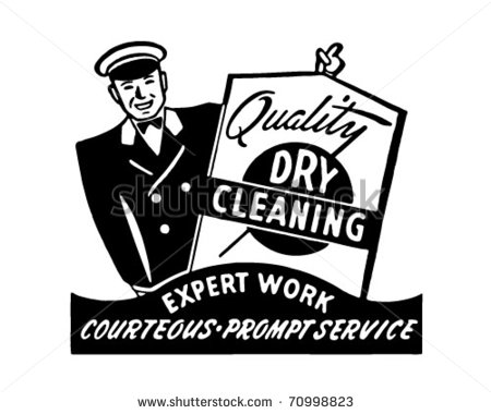 Dry Cleaning Delivery Clip Art