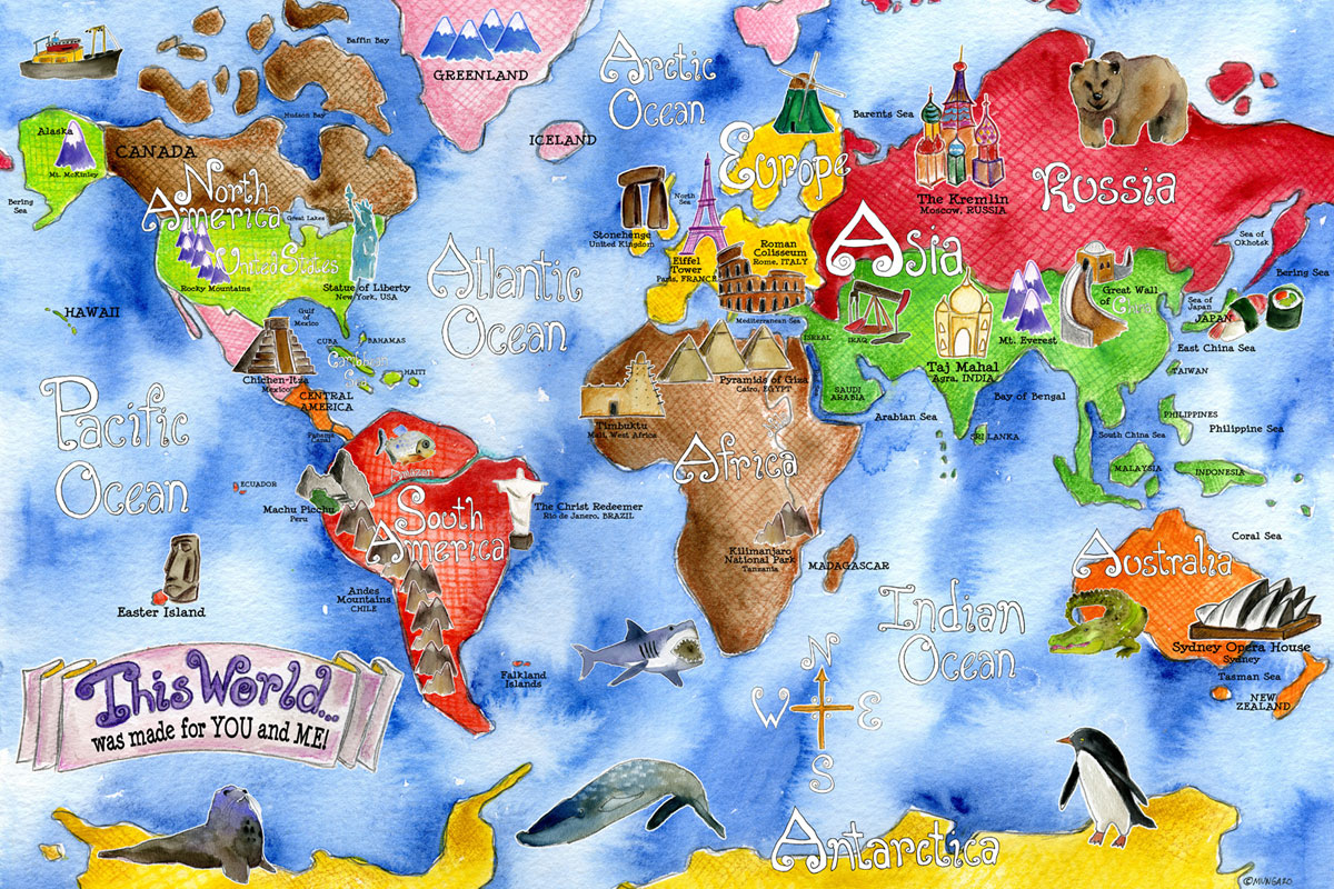 World Map Clip Art 4   Amesbury Public Library
