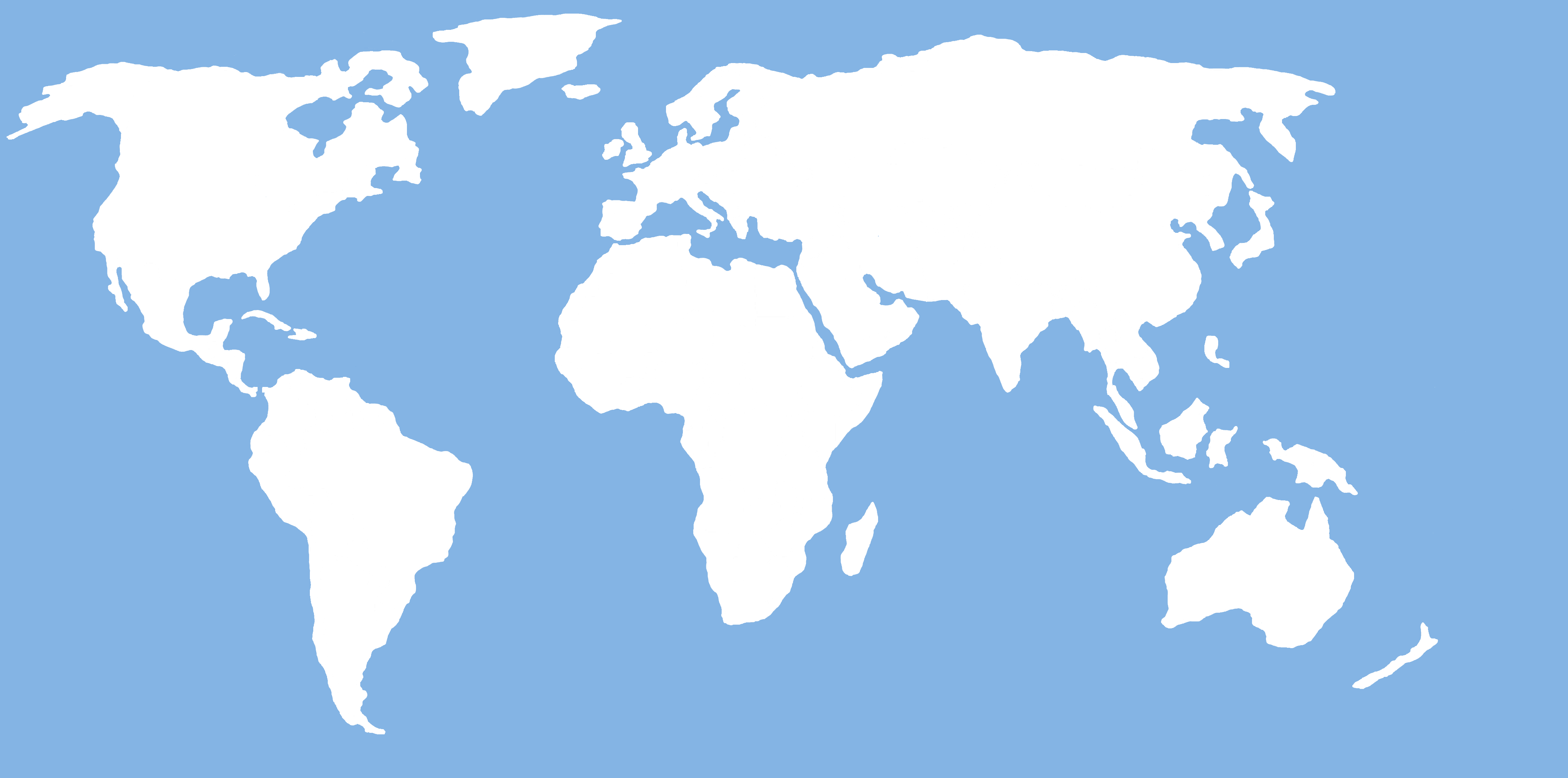 World Map For Wall   Free Images At Clker Com   Vector Clip Art Online
