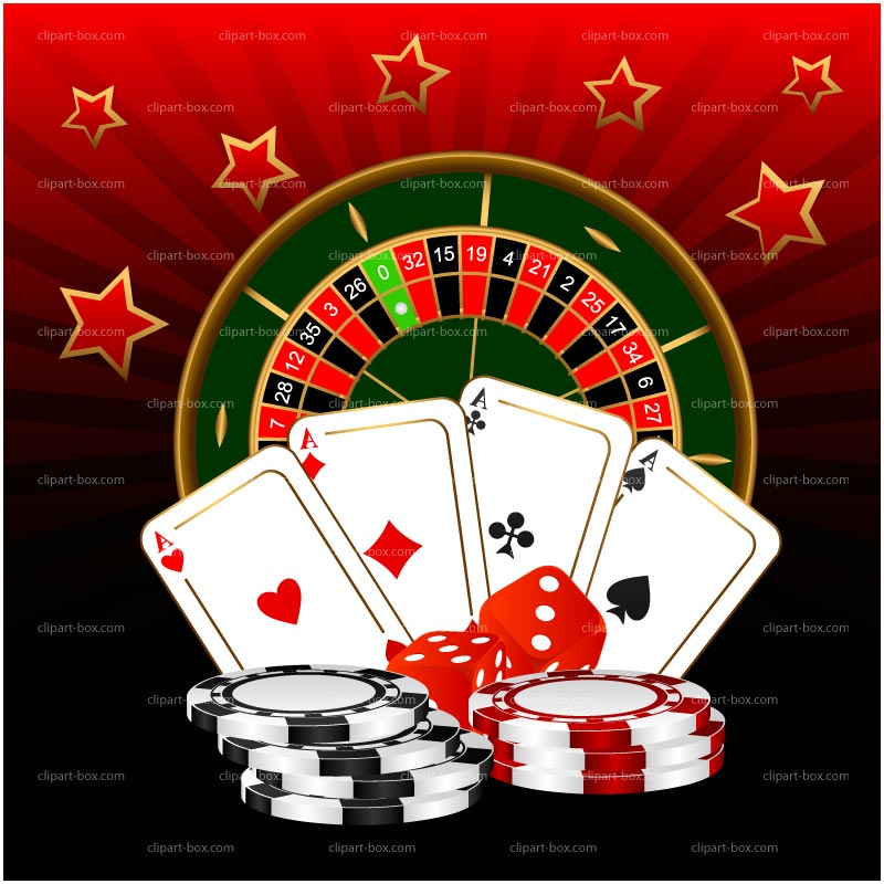 Clipart Casino Games   Royalty Free Vector Design