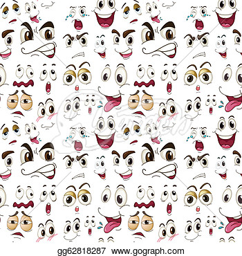 Drawing   Face Expressions  Clipart Drawing Gg62818287