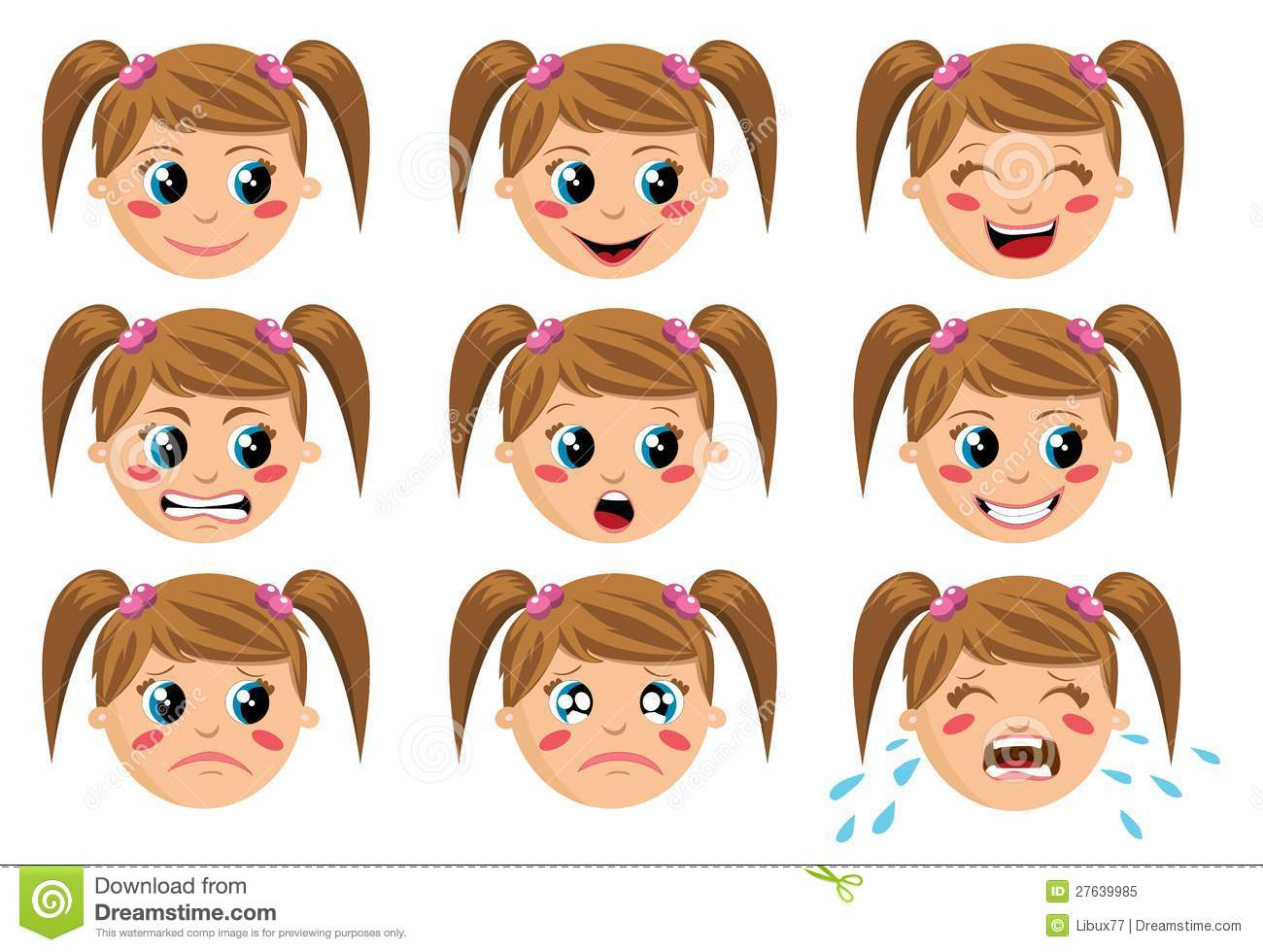 Face Expressions Royalty Free Stock Photo   Image  27639985