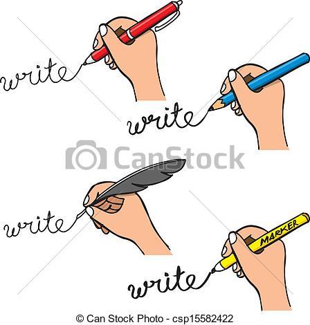 Handwriting Clipart Vector   Doodle Handwriting