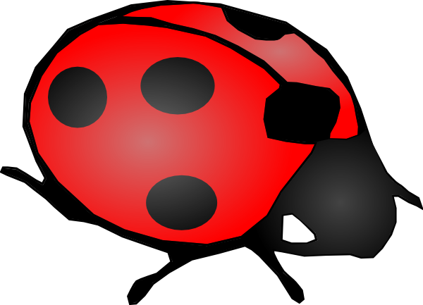 Cartoon Ladybug Clipart - Clipart Kid