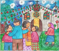 Misa De Gallo  Also Known As Simbang Gabi This Age Old Tradition Is