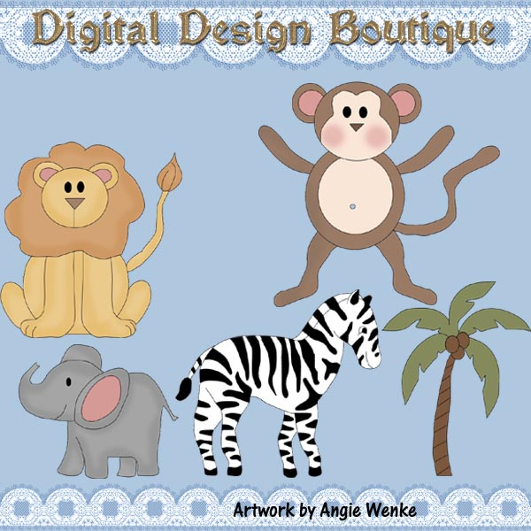 Animals    1 00   Digital Design Boutique Clipart Clip Art Clip Art