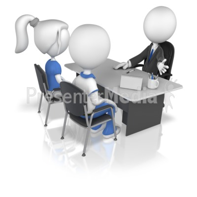 Business Figure With Clients   Presentation Clipart   Great Clipart