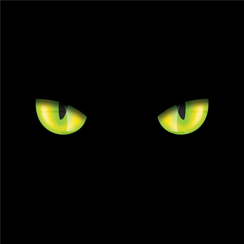 Clipart Cat S Eyes   Royalty Free Vector Design