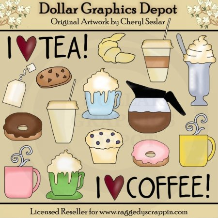 Coffee Shop 1   Clip Art    1 00   Dollar Graphics Depot Quality