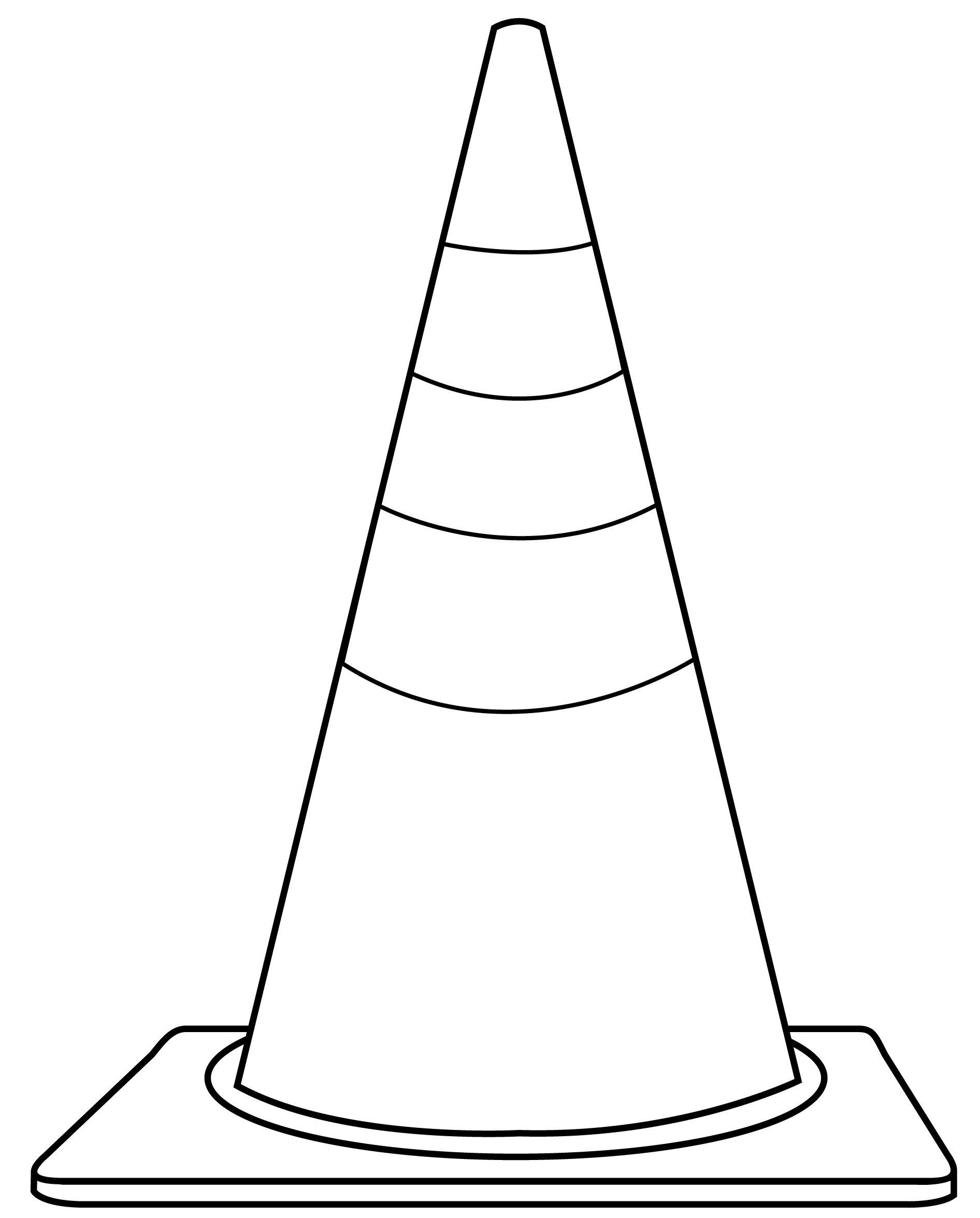 Clip Art Traffic Cone Clipart - Clipart Kid