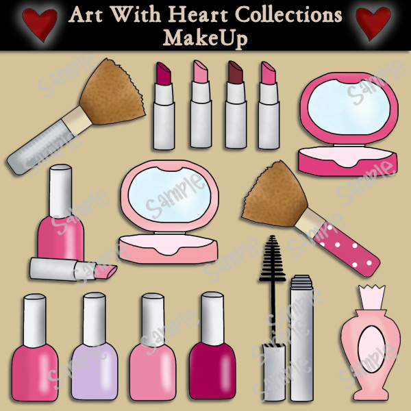 Makeup Clip Art Download     1 00   Dollar Doodles