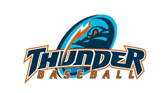 Thunder Baseball Logos Clipart - Clipart Suggest