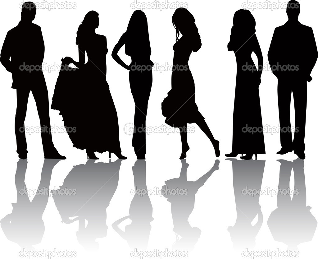 Fashion Silhouette Clipart - Clipart Suggest