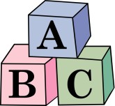 Abc Baby Blocks Clipart Boy 3d Blue And Yellow Baby Block Baby Block