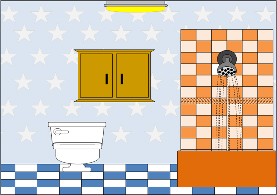 bathroom cartoon clipart clipart suggest. Black Bedroom Furniture Sets. Home Design Ideas