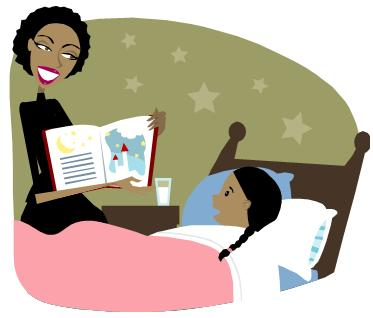 Bedtime clipart clipart suggest for Bed stories online