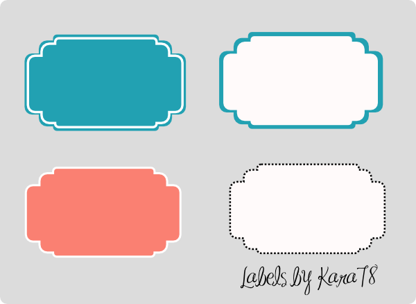 Custom Card Template online lables : decorative labels Gallery