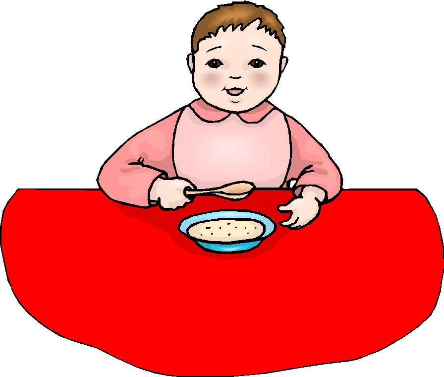 Girl Having Meal Free Clipart   Free Microsoft Clipart