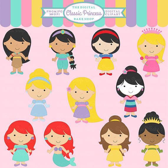 clipart princesas disney - photo #46