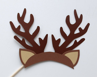 how to make reindeer horns