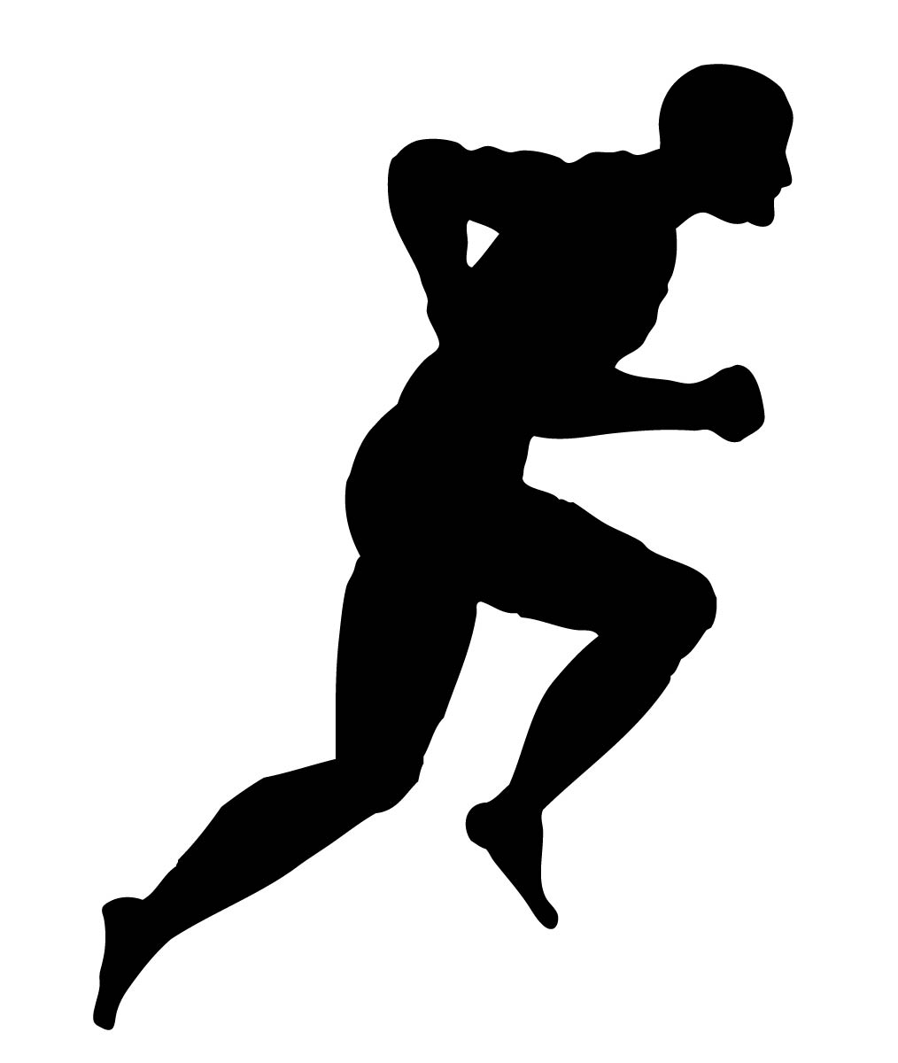 Running Silhouette Clipart - Clipart Suggest