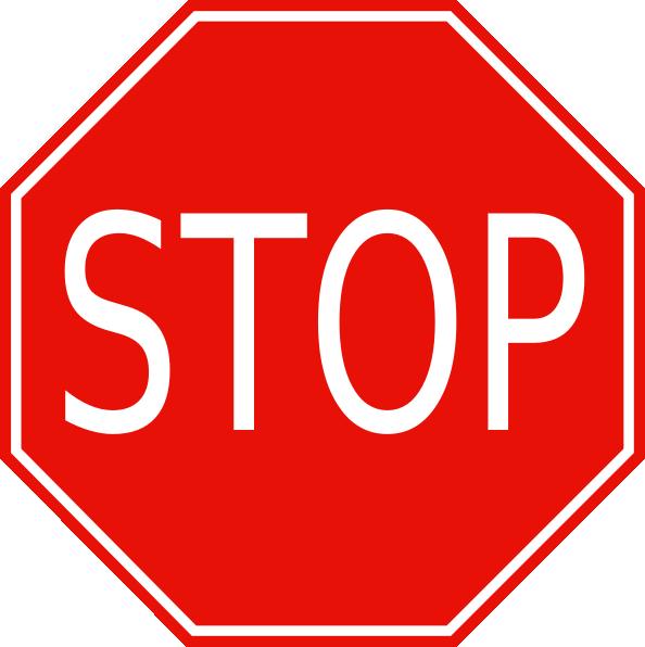 stop sign clip art at clker com vector clip art online stop sign clip art free downloads free printable stop sign clip art