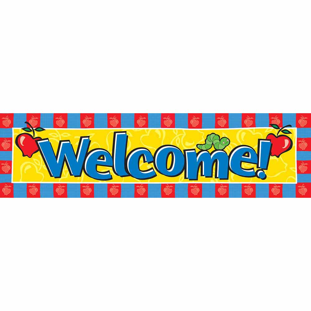Welcome Back To School Banner Welcome Classroom Banner