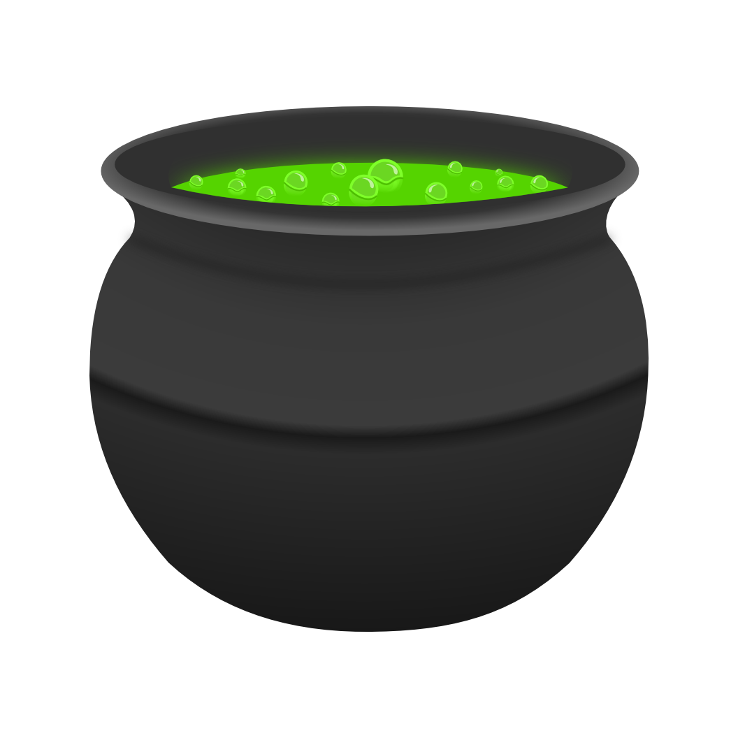 Witches Cauldron Clipart - Clipart Kid