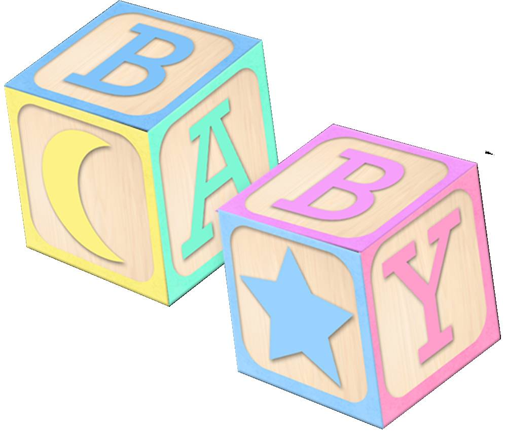 Baby Block Toy Box : Baby abc blocks clipart suggest