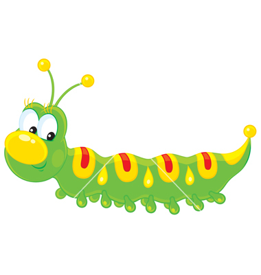 Caterpillar clipart free