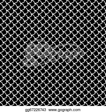 Drawing   Seamless Fish Scales Texture  Vector Art   Clipart Drawing