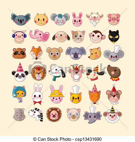 Animal Face Clipart Suggest