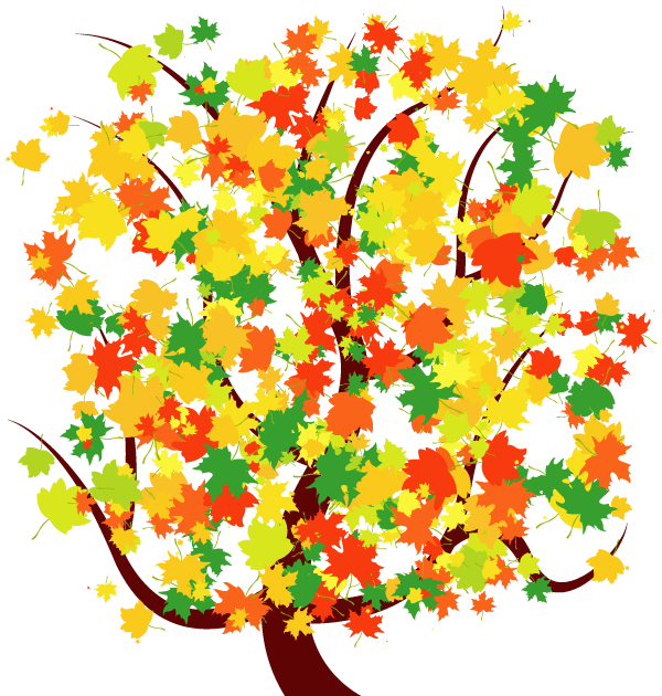Fall Leaves Tree Clipart   Clipart Panda   Free Clipart Images