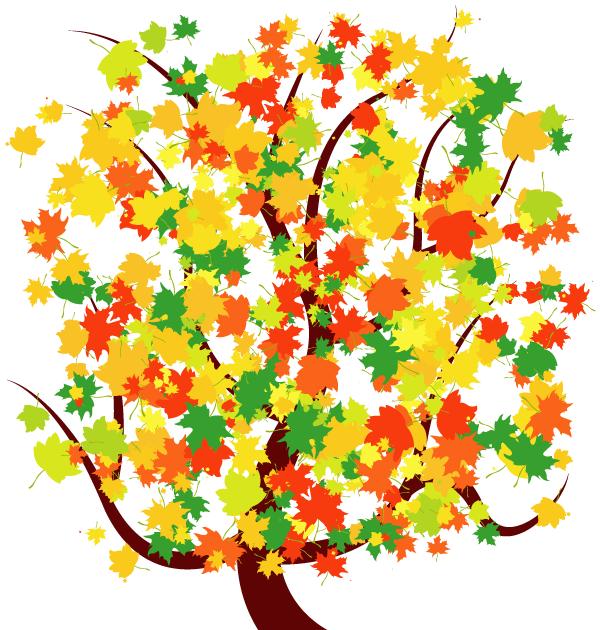 Fall Tree Free Clipart - Clipart Kid