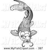 Fish With Scales Colouring Pages  Page 2