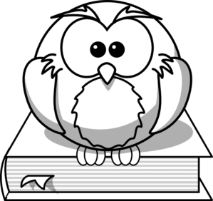 Owl Reading Clipart   Clipart Best
