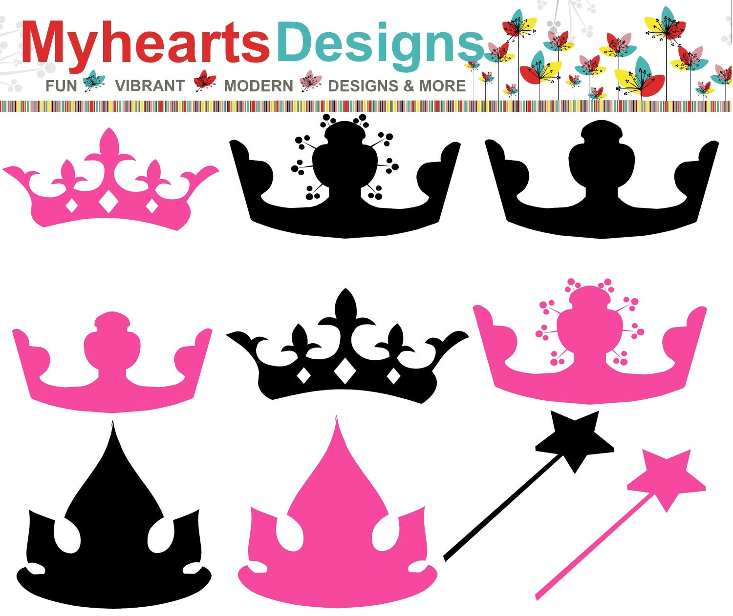 Pink Princess Crown Clipart Crown Clip Art Pink Princess #6rzp0F ...