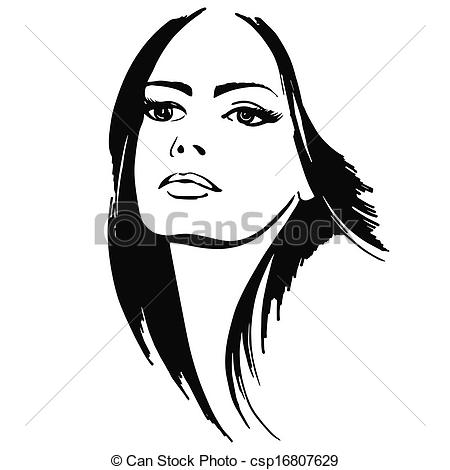 Pretty lady clipart clipart kid