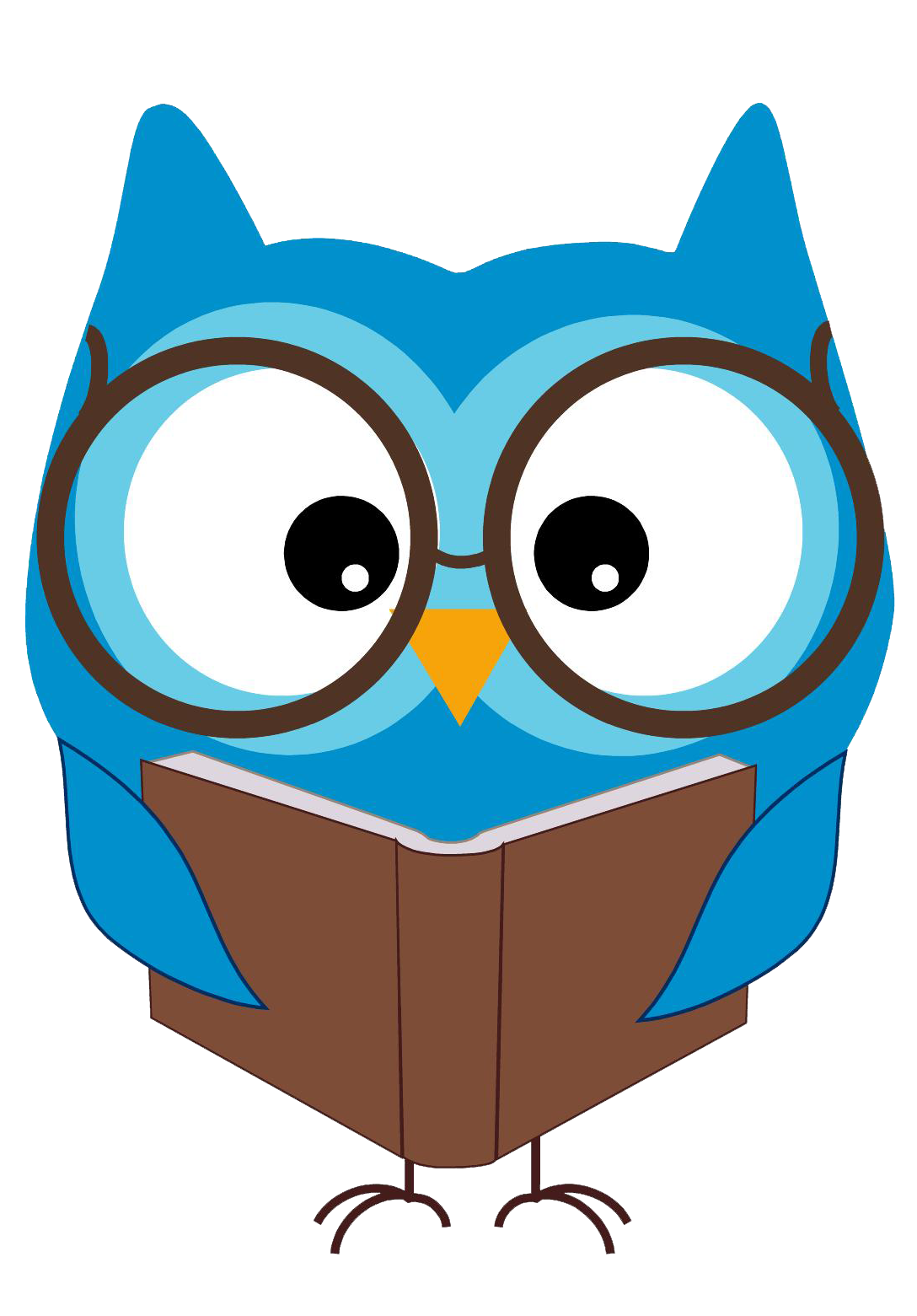 Reading Owl Clip Art   Cliparts Co